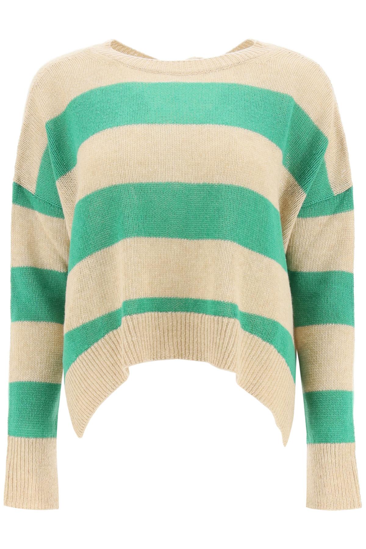Marni maglia over a righe