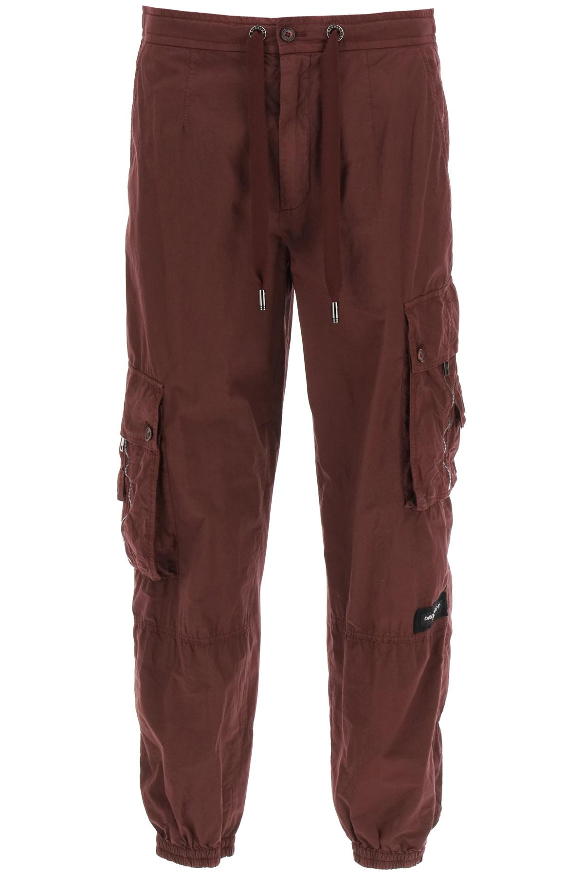 Dolce & gabbana pantalone cargo in cotone