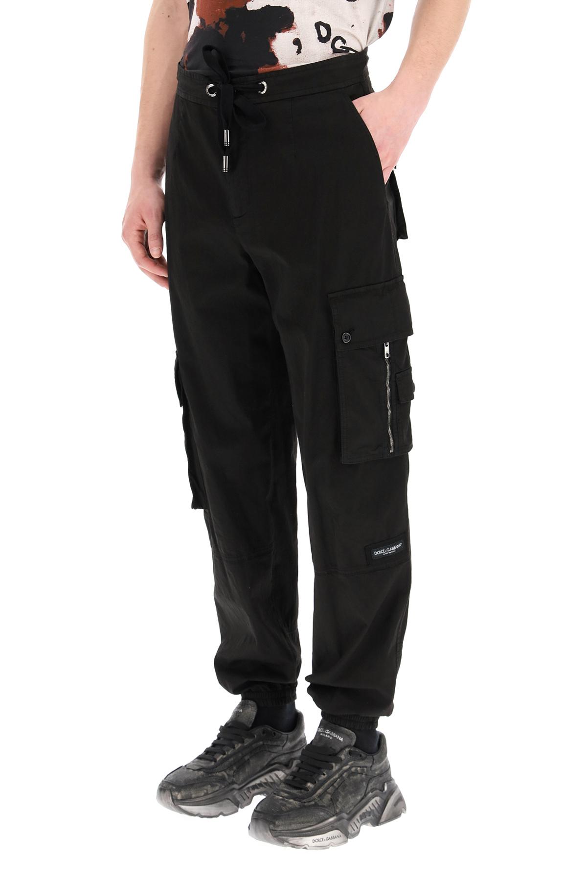 Dolce & gabbana pantalone cargo