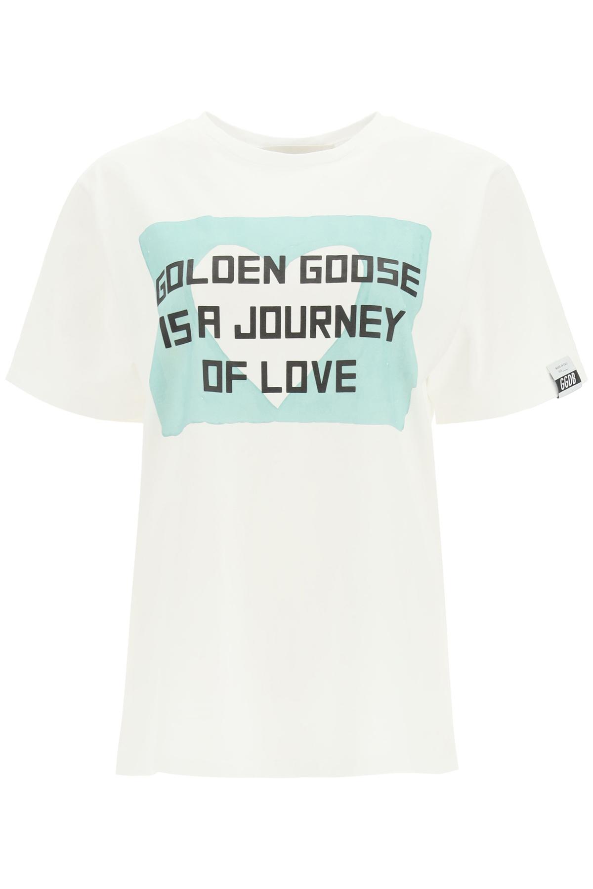 Golden goose t-shirt aira journey of love boyfriend