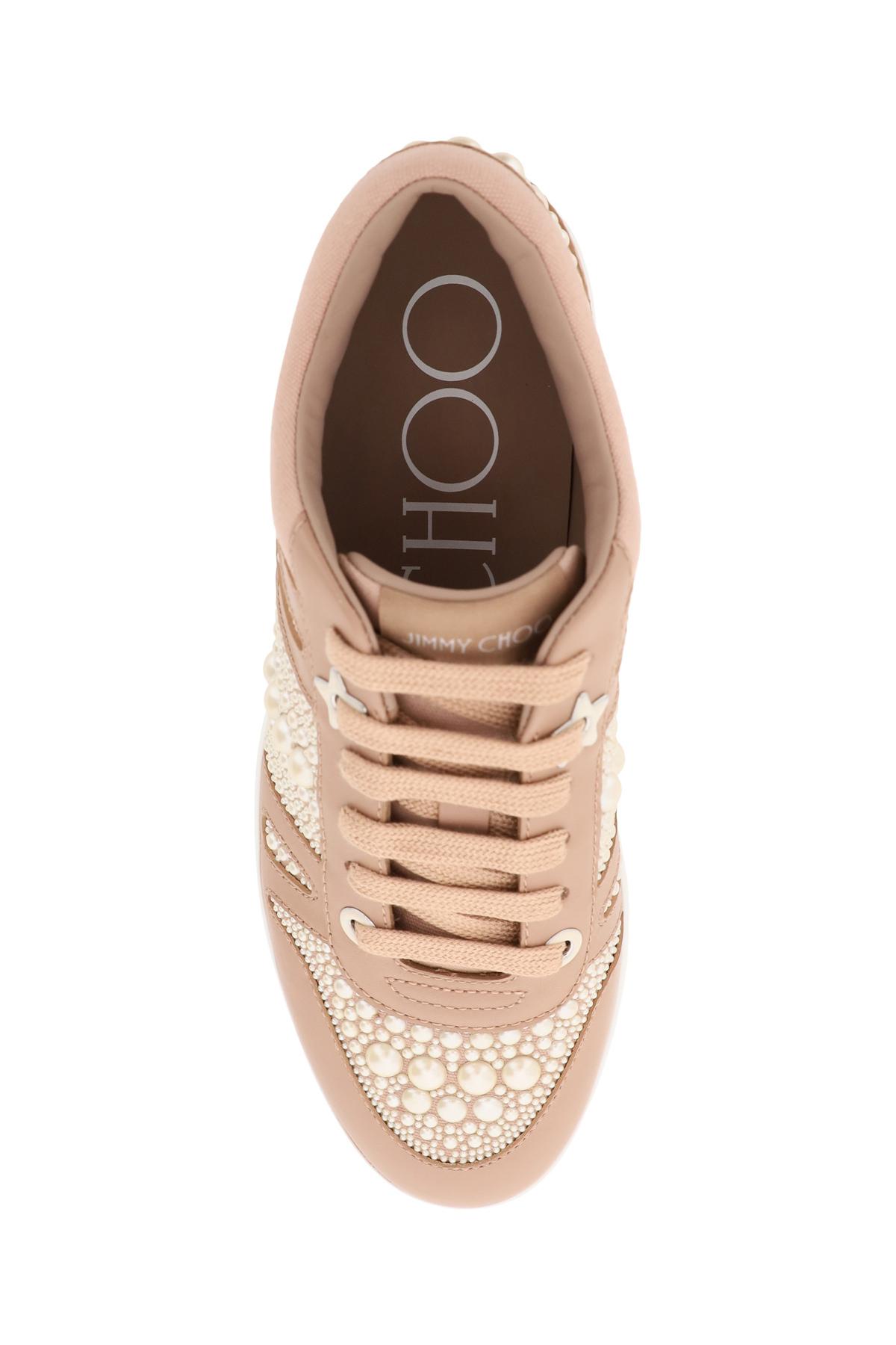 Jimmy choo sneakers hawaii con perle