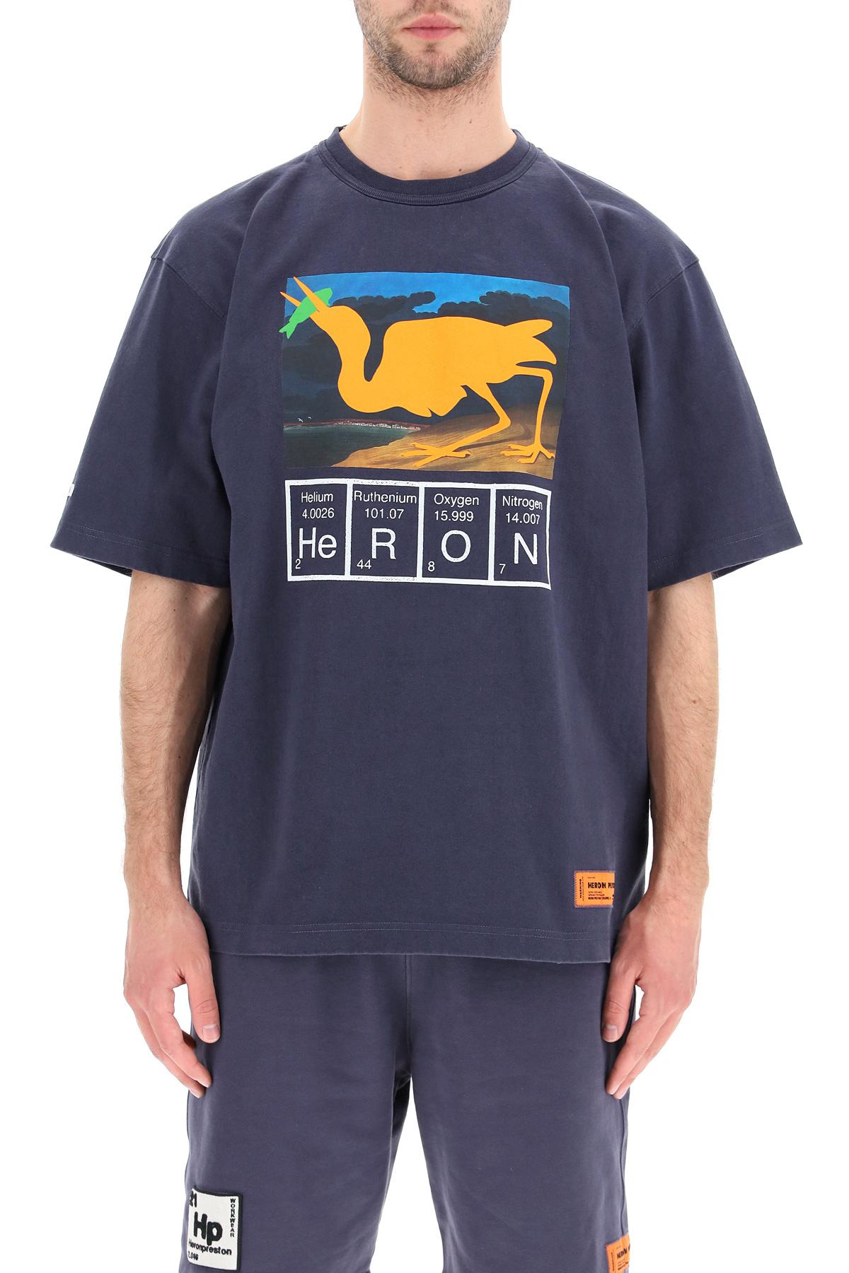 Heron preston t-shirt periodic logo