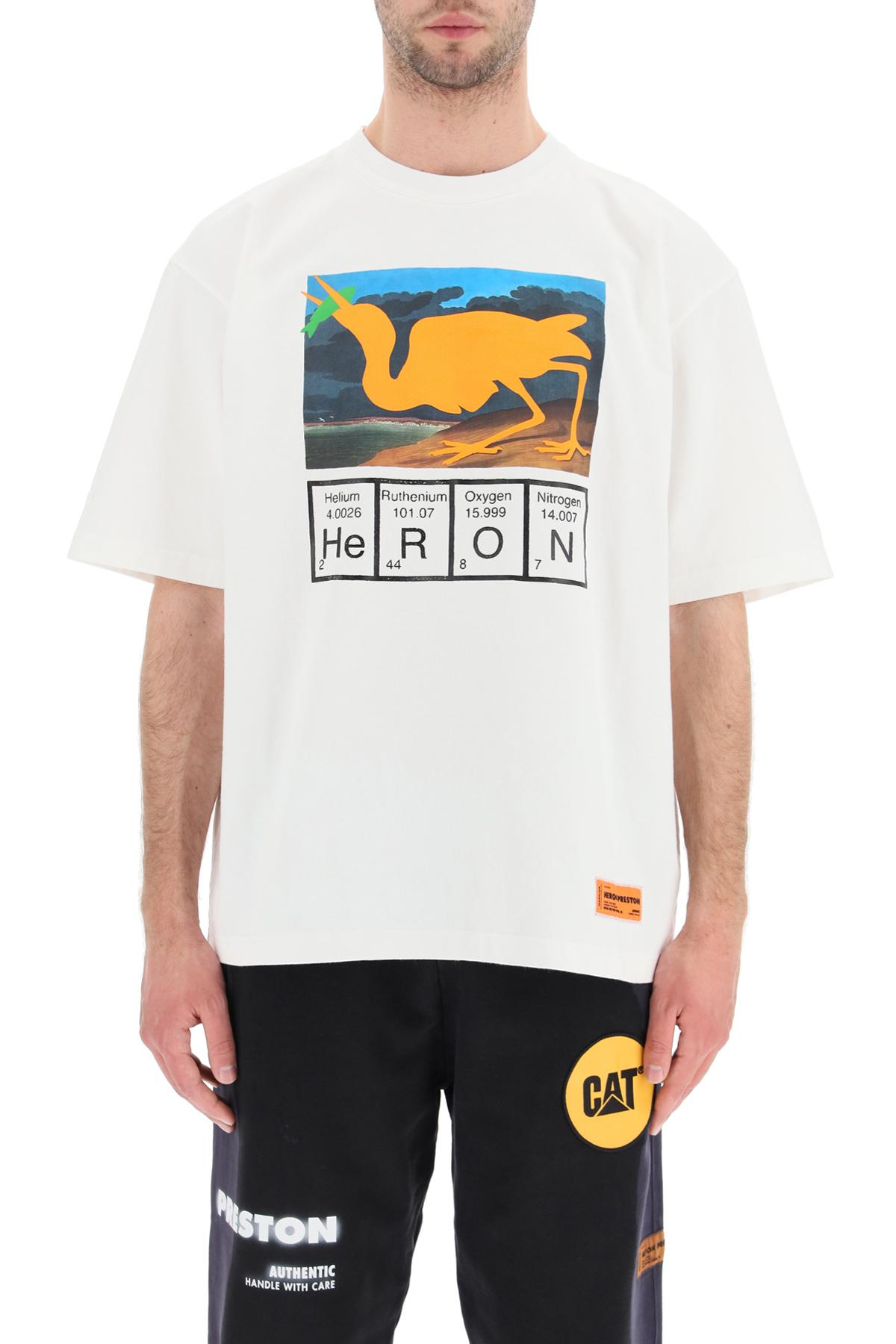 Heron preston t-shirt heron periodic