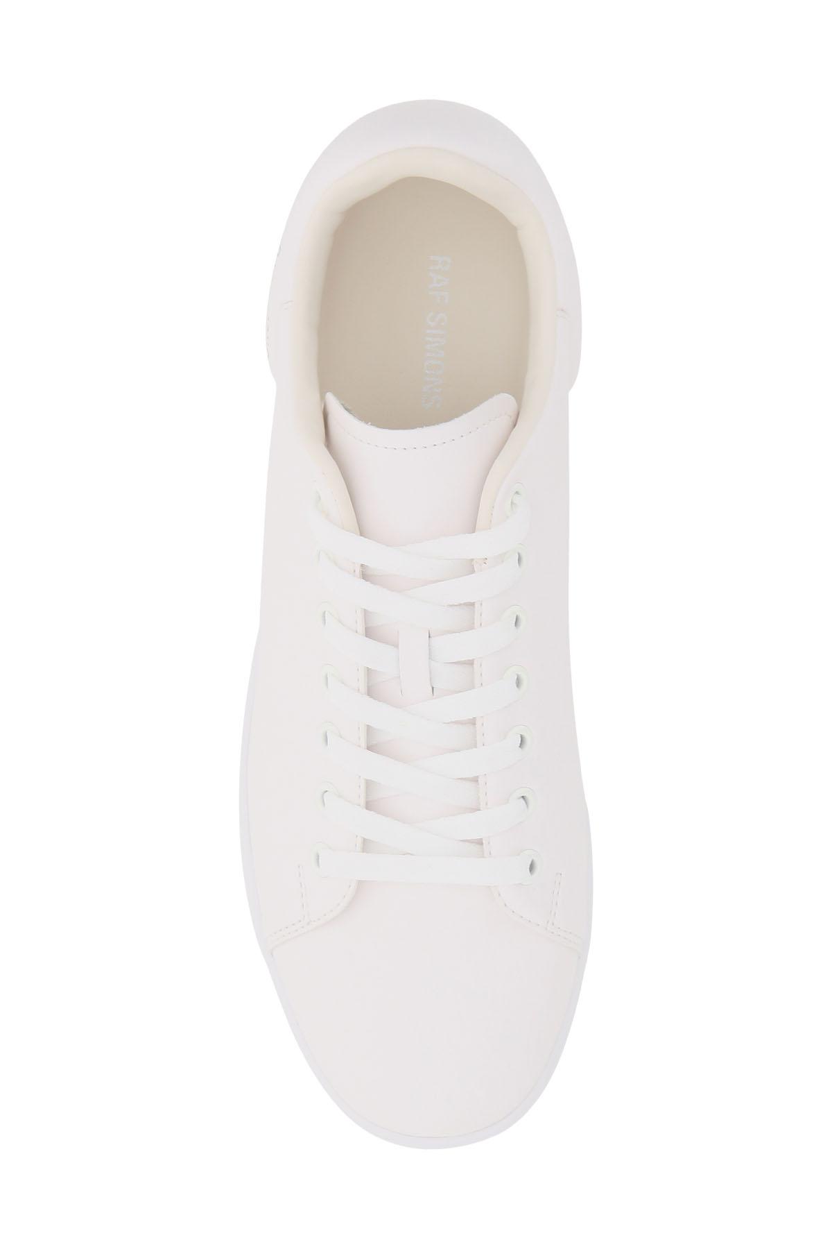 Raf simons sneaker runner in pelle sintetica orion
