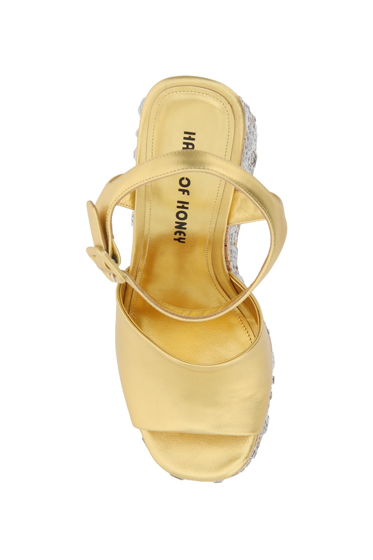 Haus of honey sandali croco crystal modesty