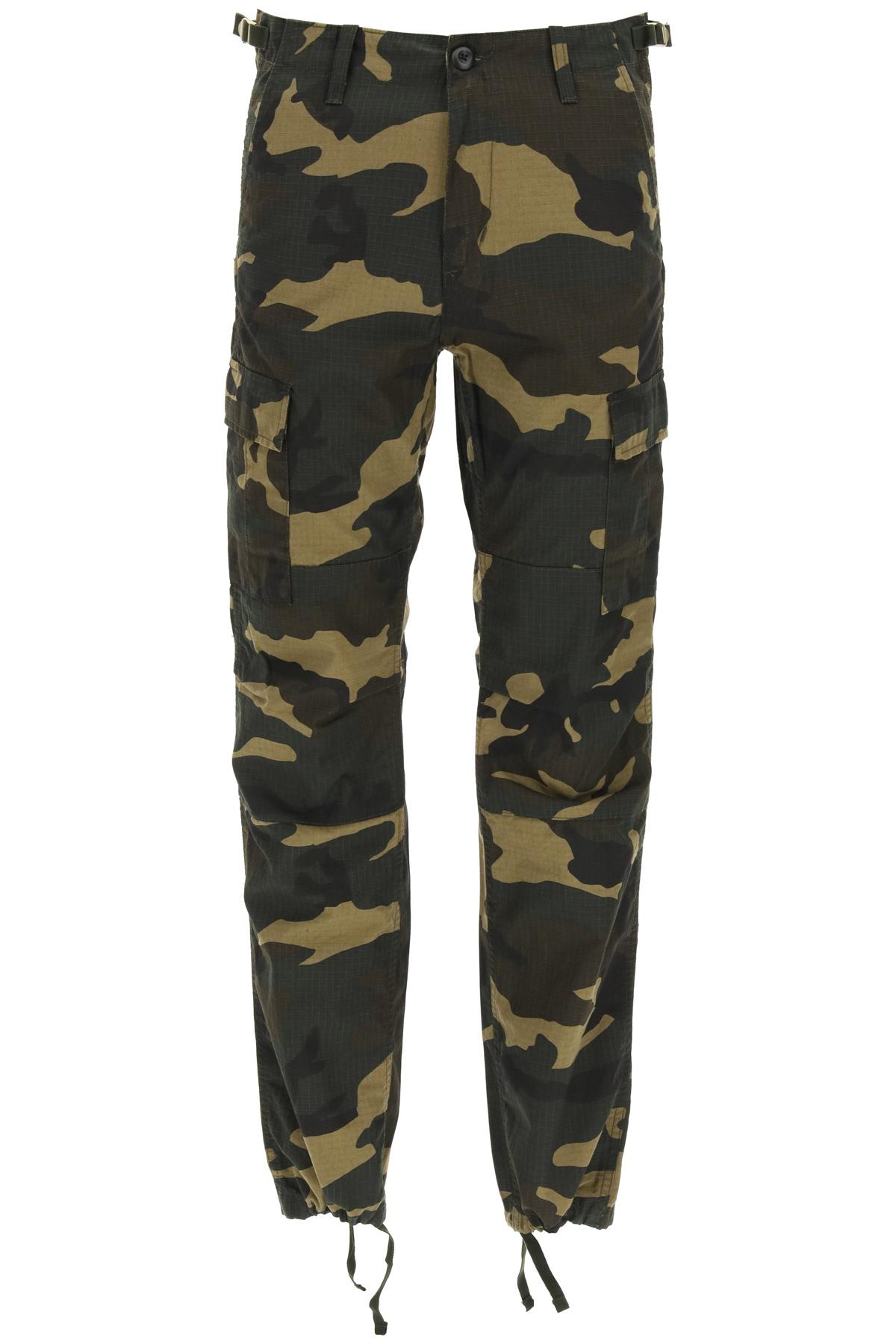 Carhartt pantaloni aviation cargo camouflage