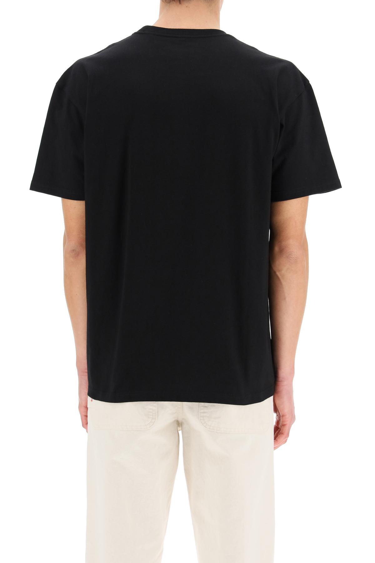 Carhartt t-shirt s/s chase con ricamo logo