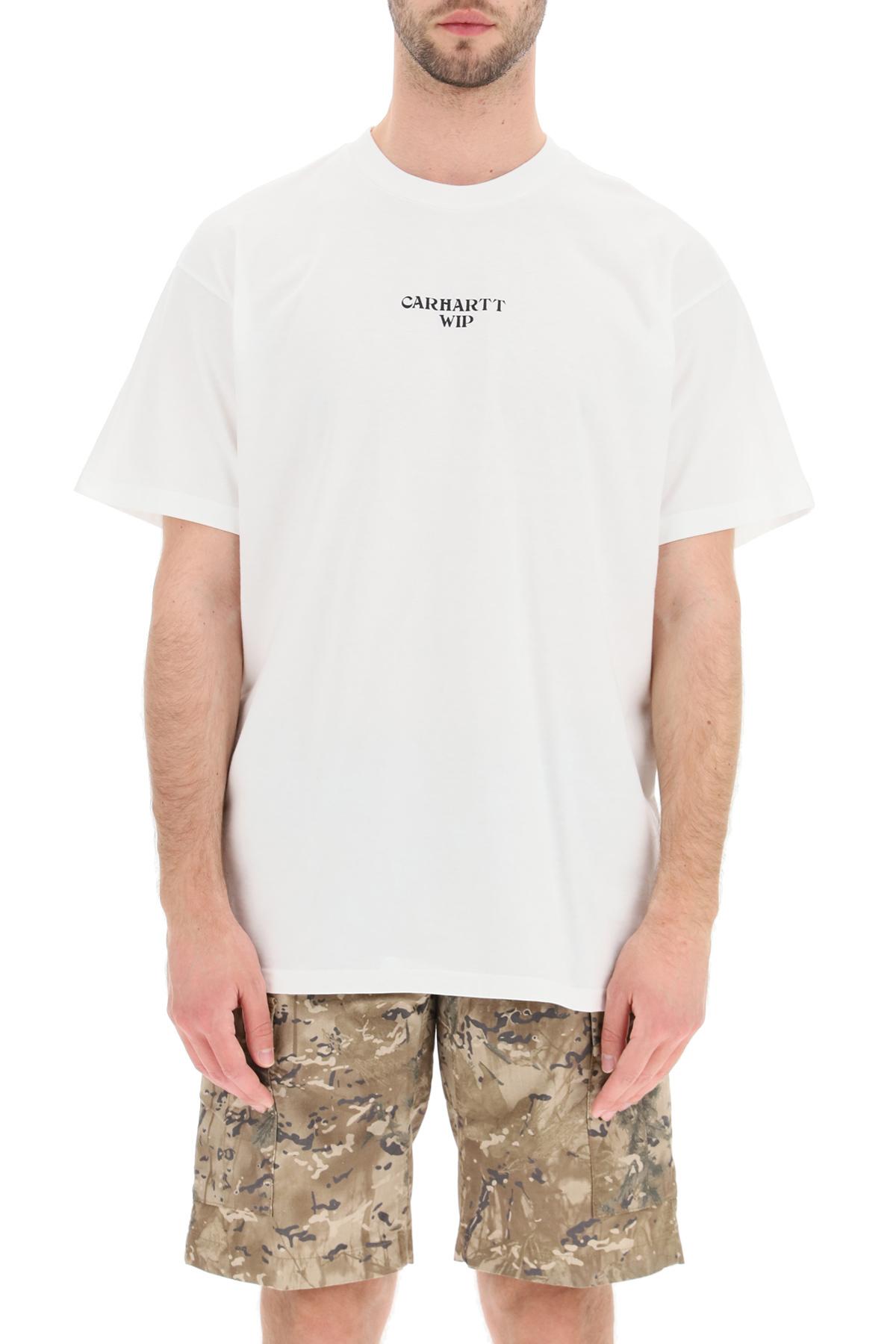 Carhartt t-shirt stampa panic