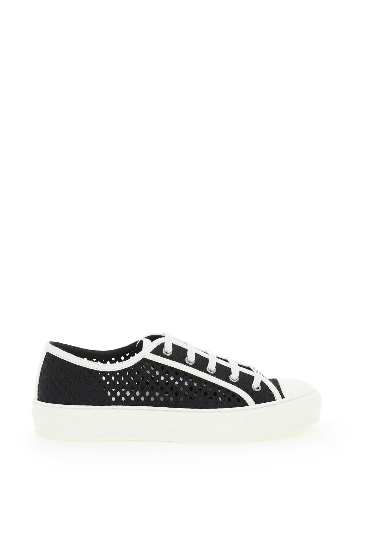Dior sneakers ricamo rete walk'n'dior