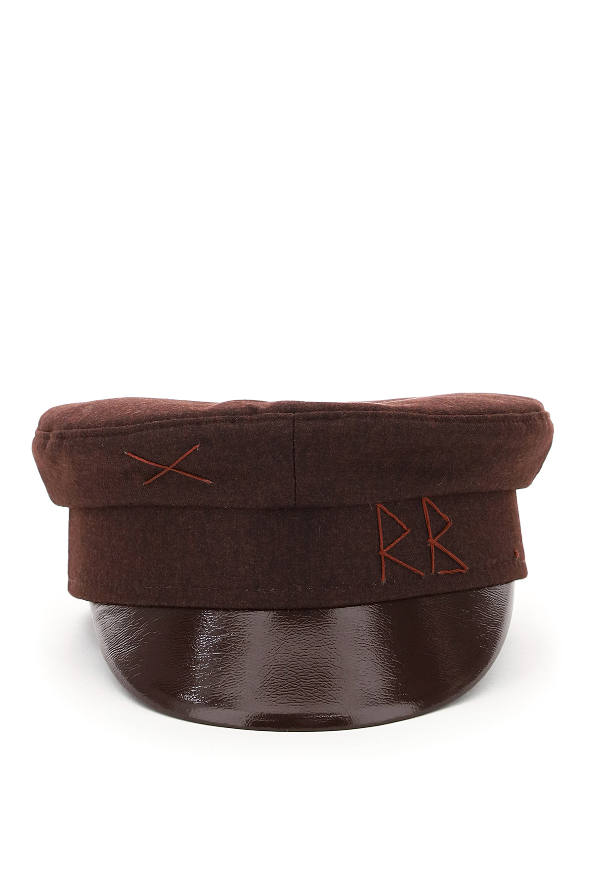 Ruslan baginskiy cappello baker boy ricamo rb