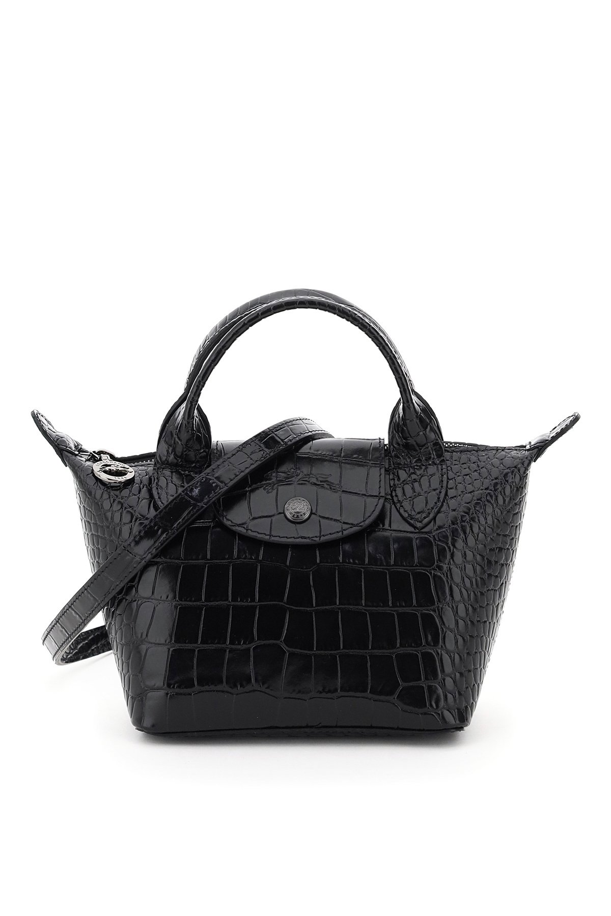 Longchamp mini bag le pliage xs stampa coccodrillo
