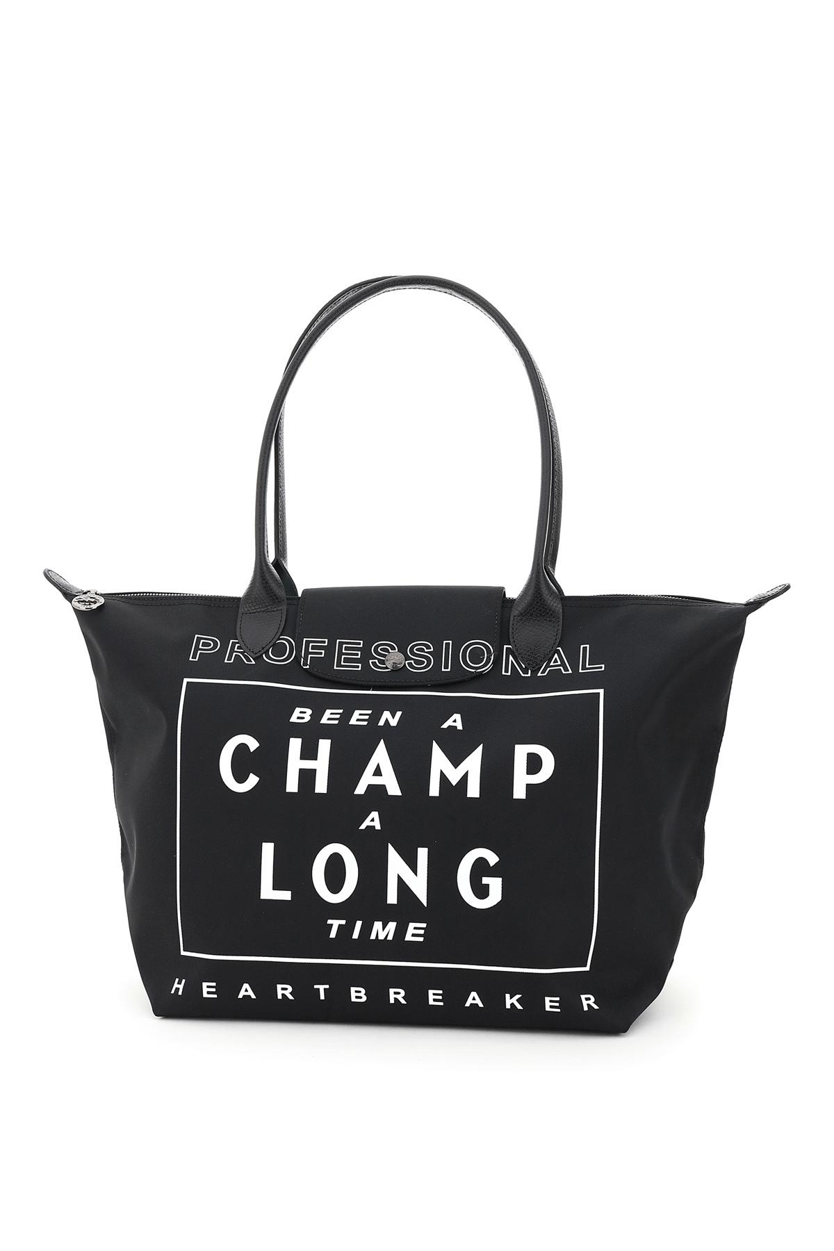 Longchamp borsa con stampa been a champ a long time