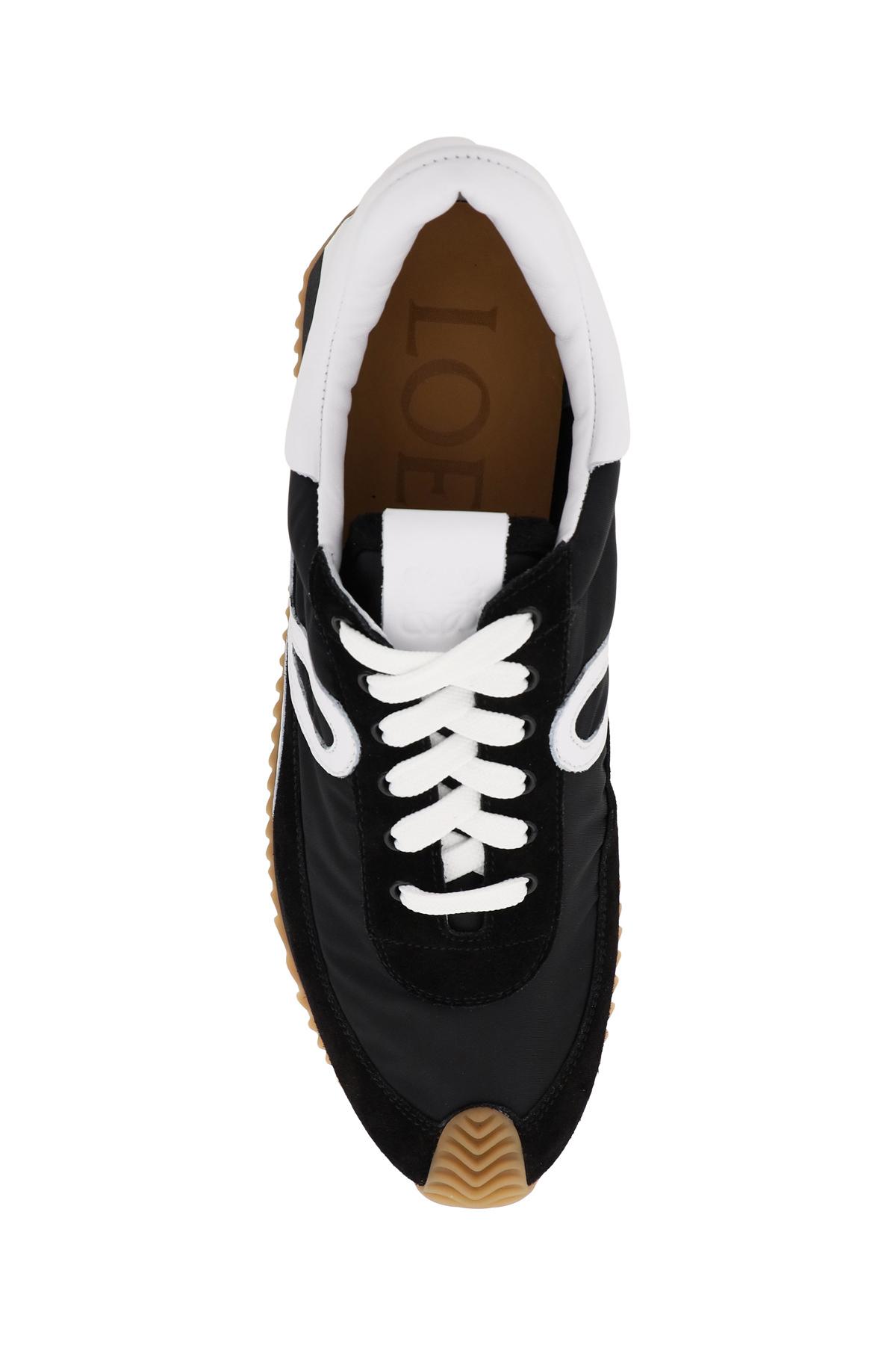 Loewe sneakers flow in pelle e tessuto