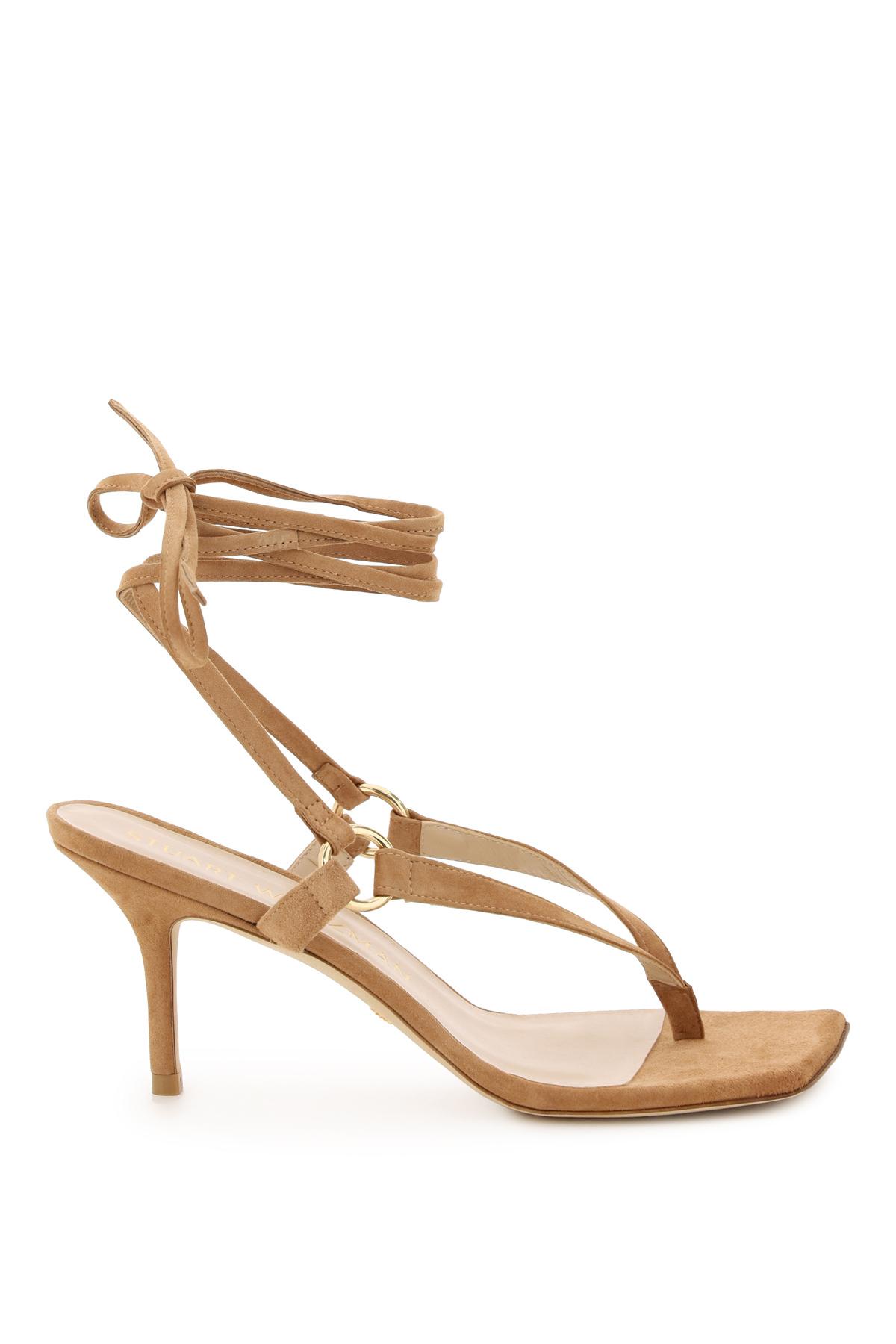 Stuart weitzman sandali suede lalita 75