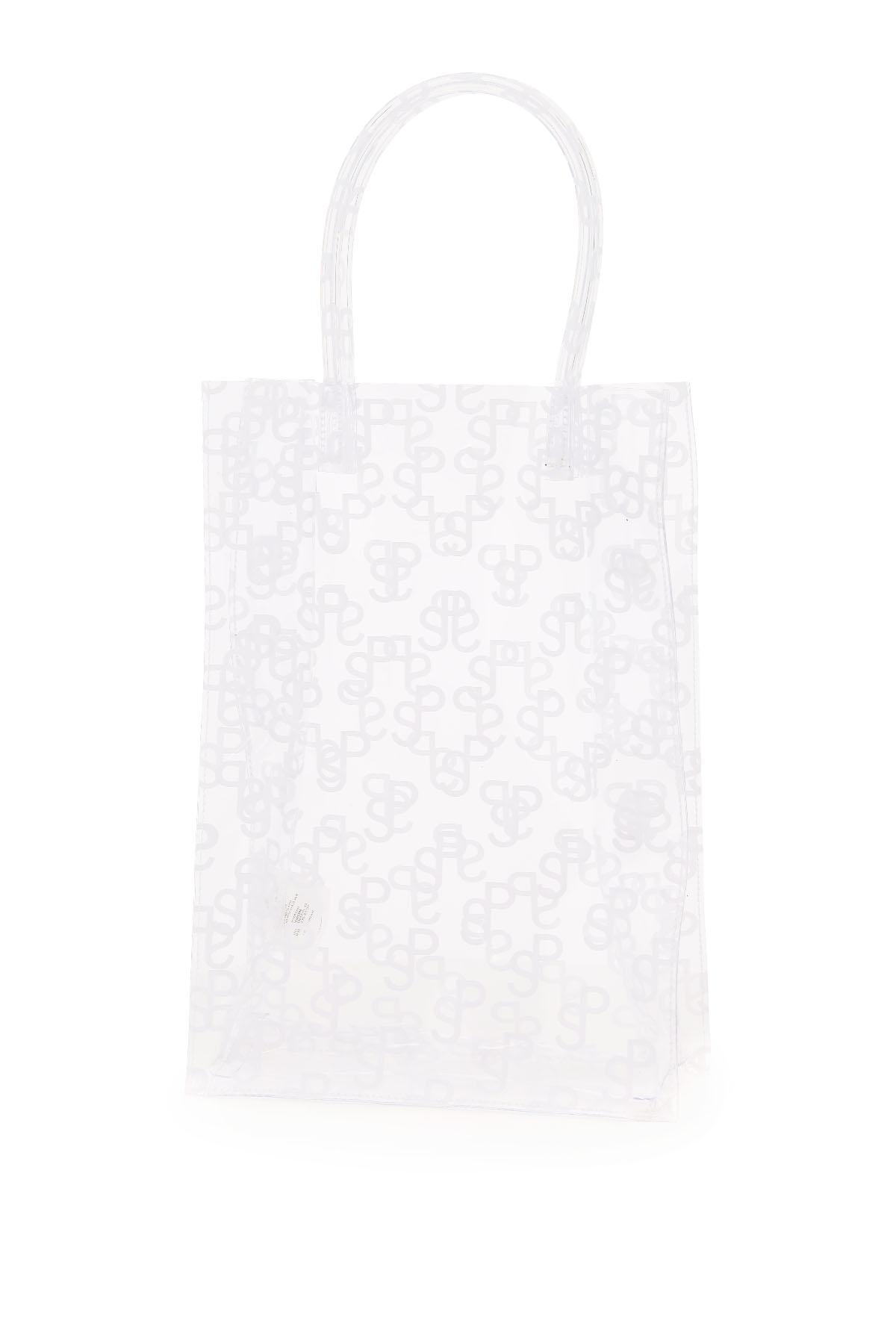 Saks potts shopping lap bag stampa monogram