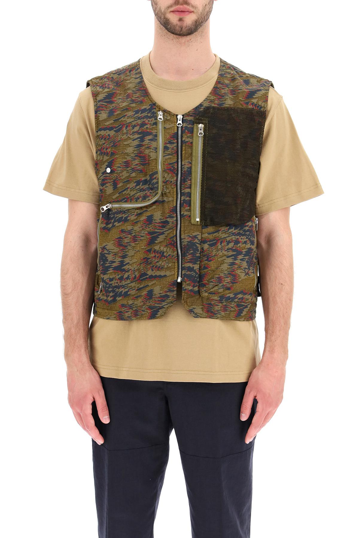 Stone island shadow project utility vest