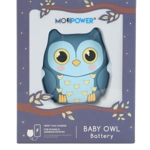 L10 power bank mojipower baby owl
