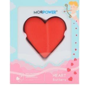 L10 power bank mojipower heart