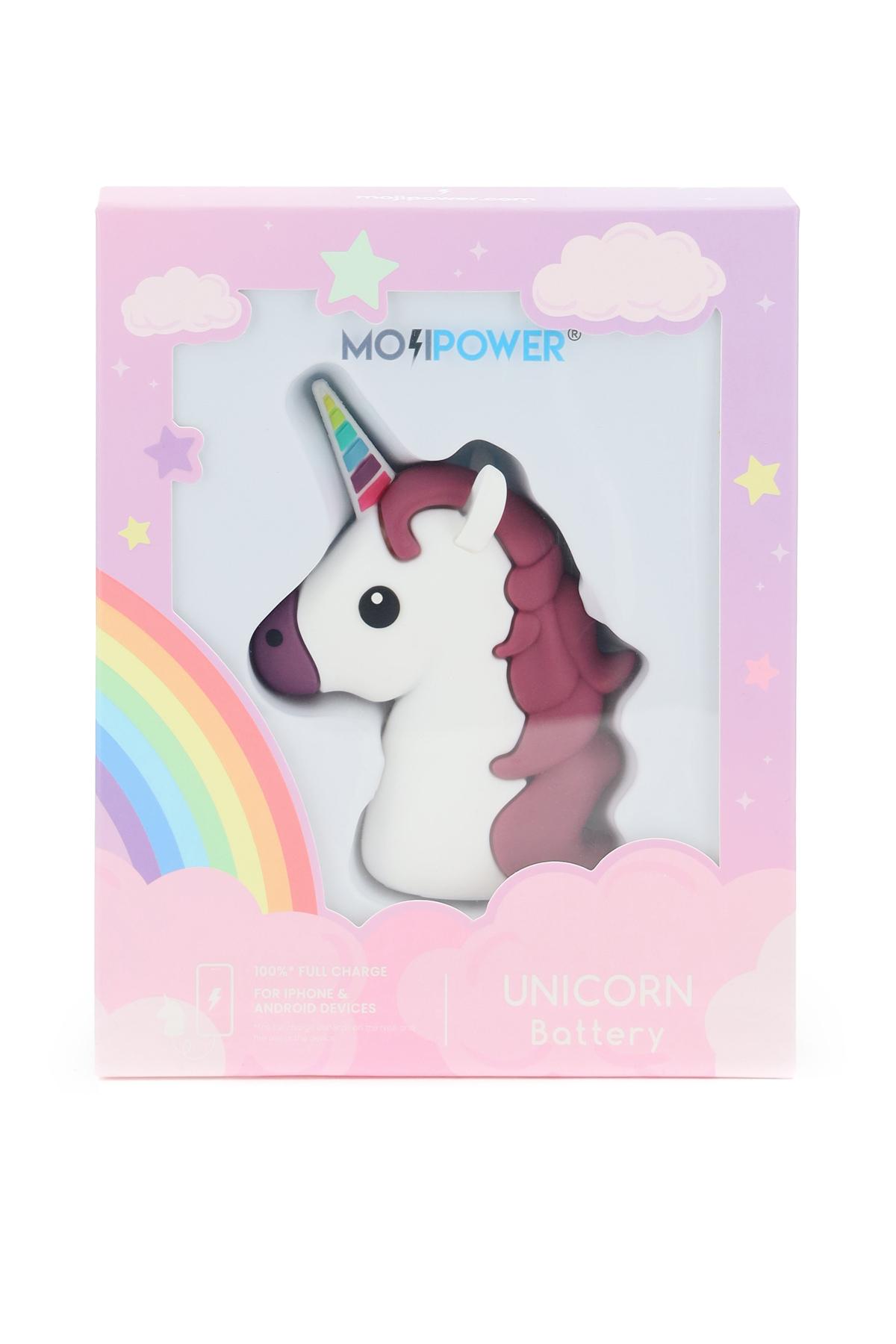 L10 power bank mojipower unicorn