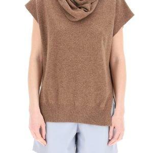 Loulou studio maglia con sciarpa