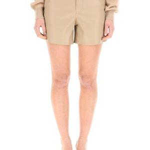 Nanushka shorts in pelle vegana