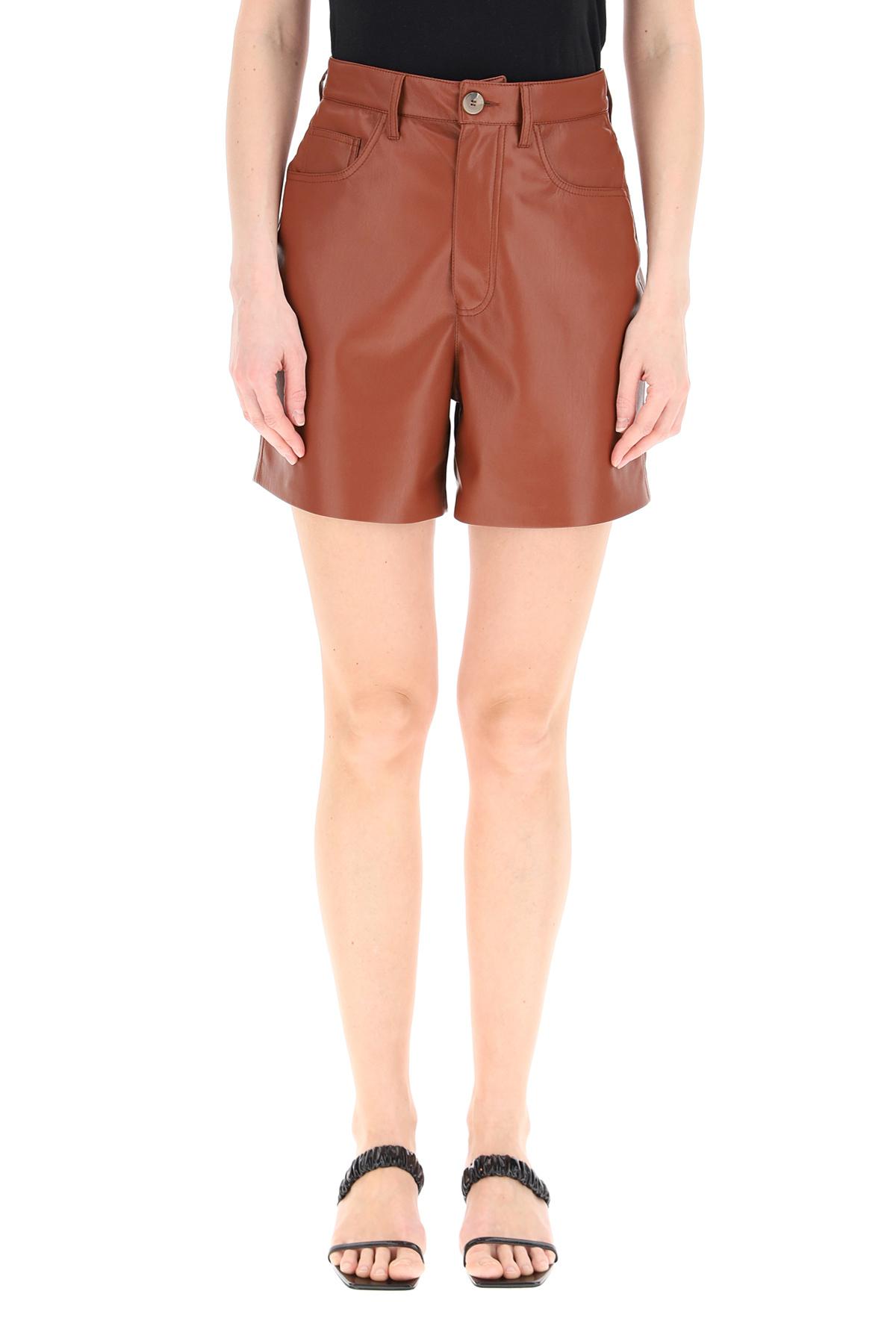 Nanushka shorts leana in pelle vegana