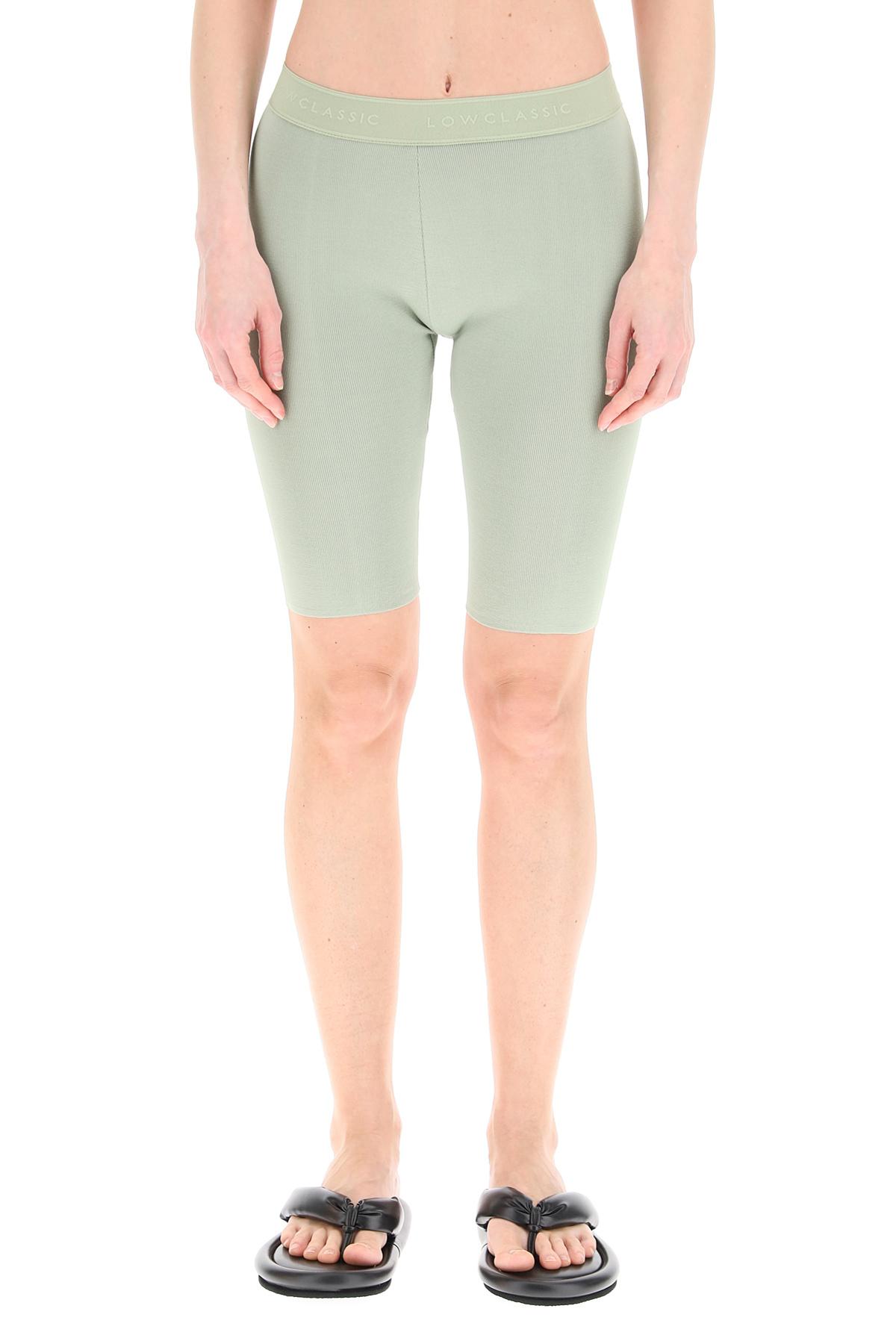 Low classic shorts aderenti in maglia