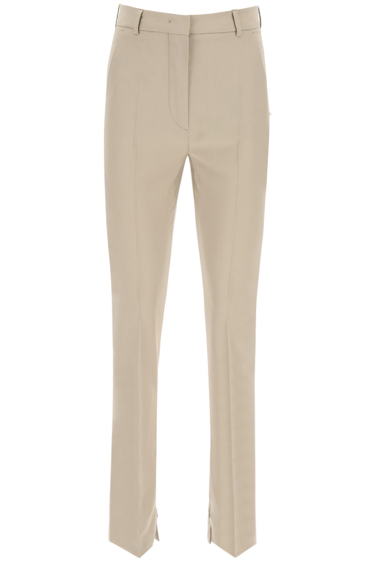 Sportmax pantaloni con zip
