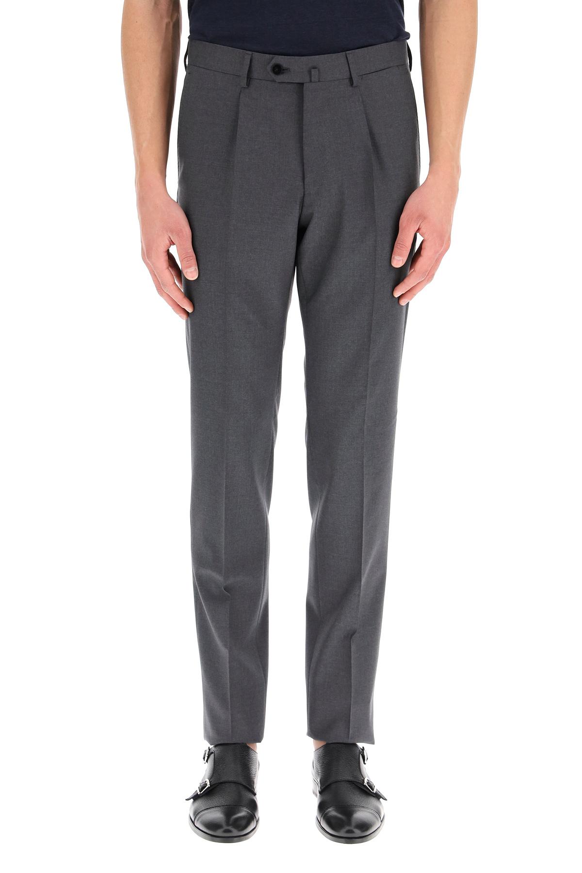 Caruso pantaloni classici in lana