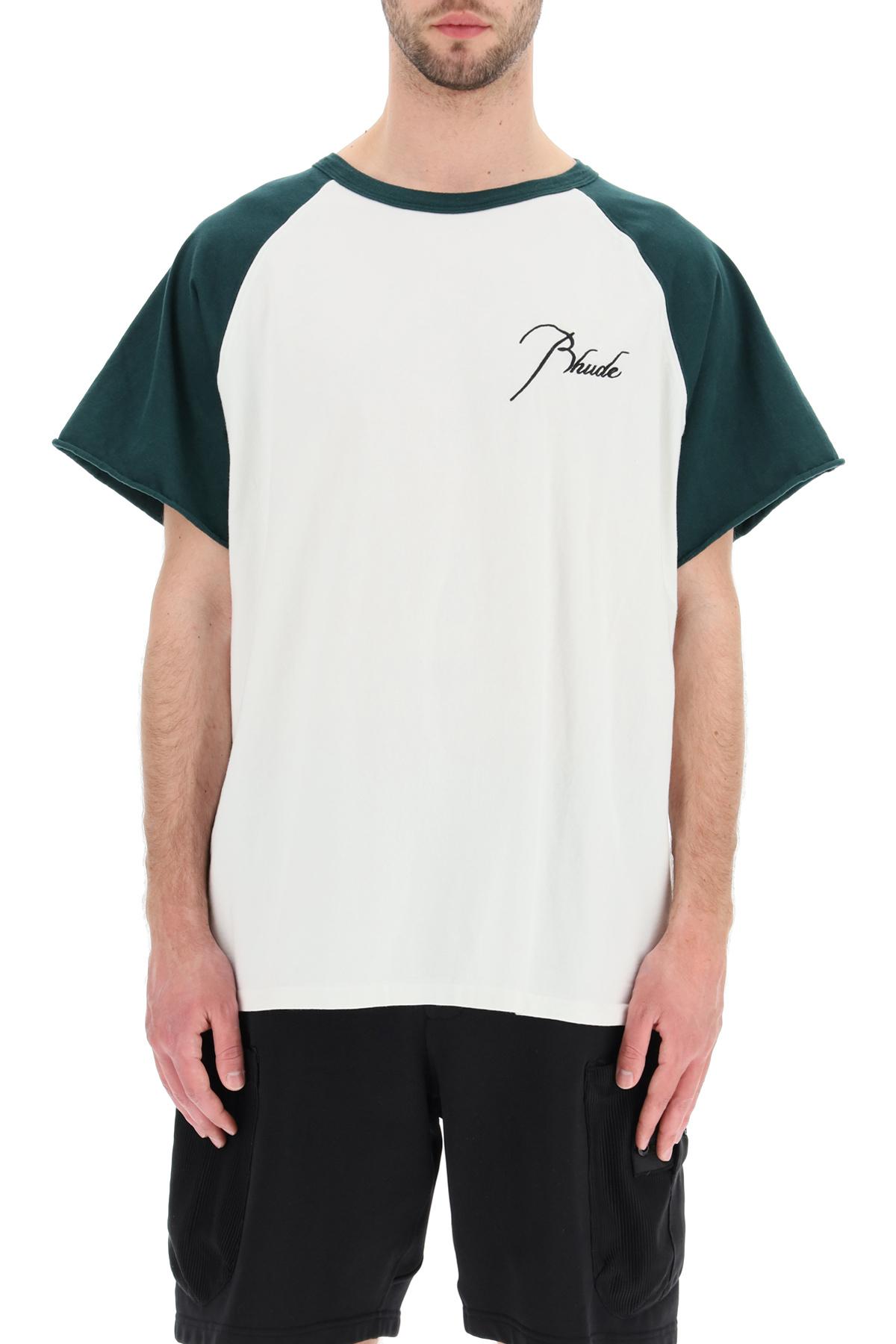 Rhude t-shirt raglan tee
