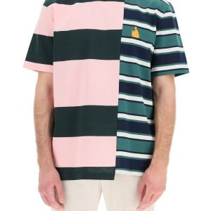 Lanvin t-shirt patchwork rugby