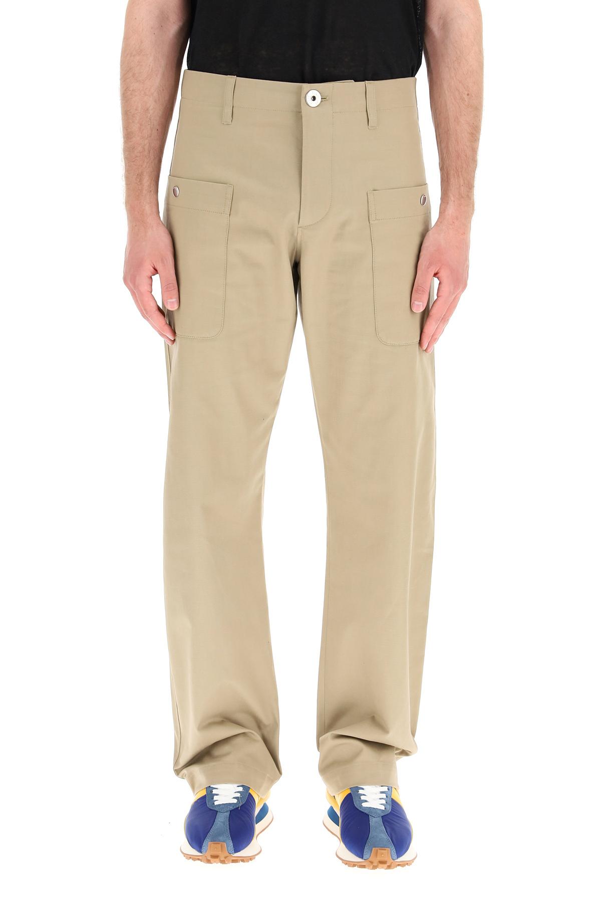 Lanvin pantaloni cargo