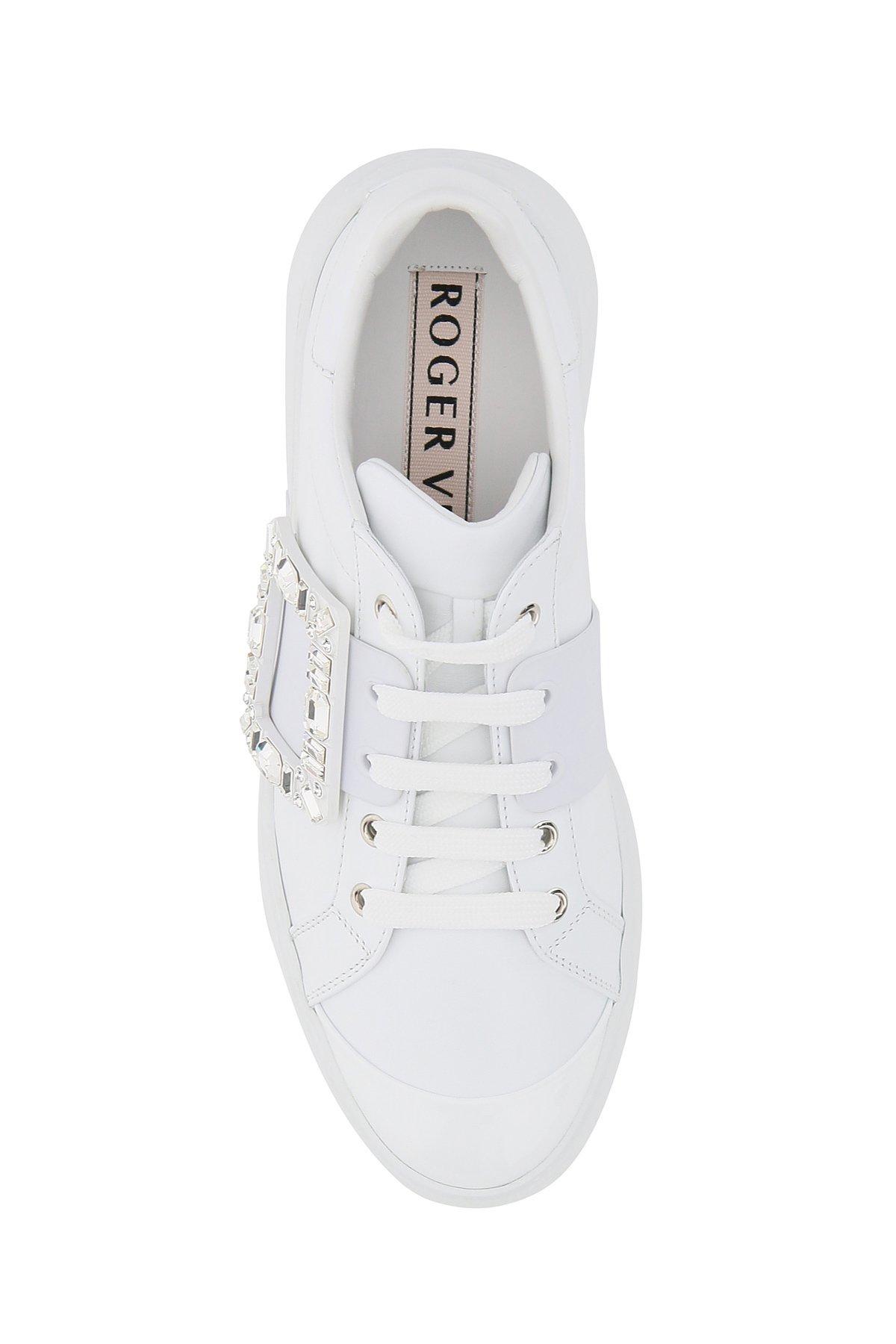 Roger vivier viv skate strass sneakers