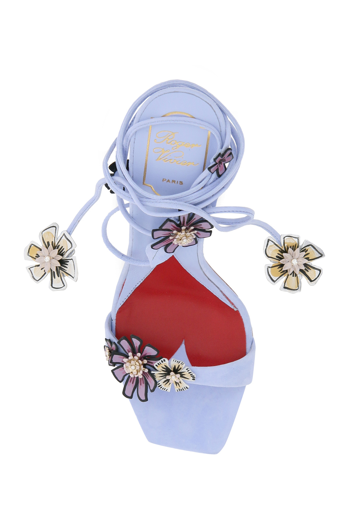 Roger vivier sandali vivier blossom 100