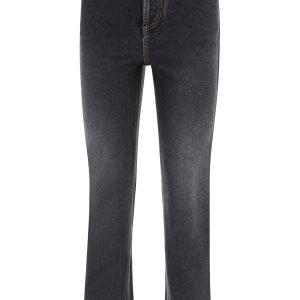 Loewe jeans con anagram ricamato