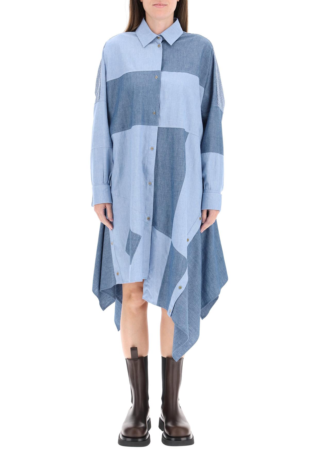 Loewe abito oversize patchwork