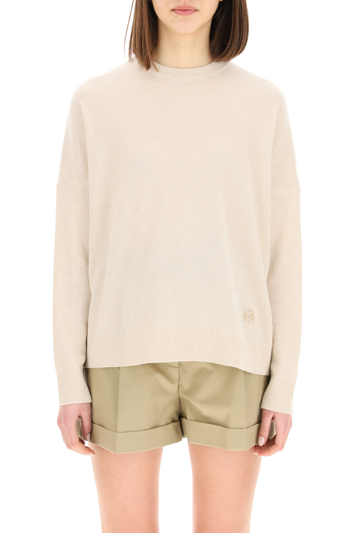 Loewe maglia over in cashmere