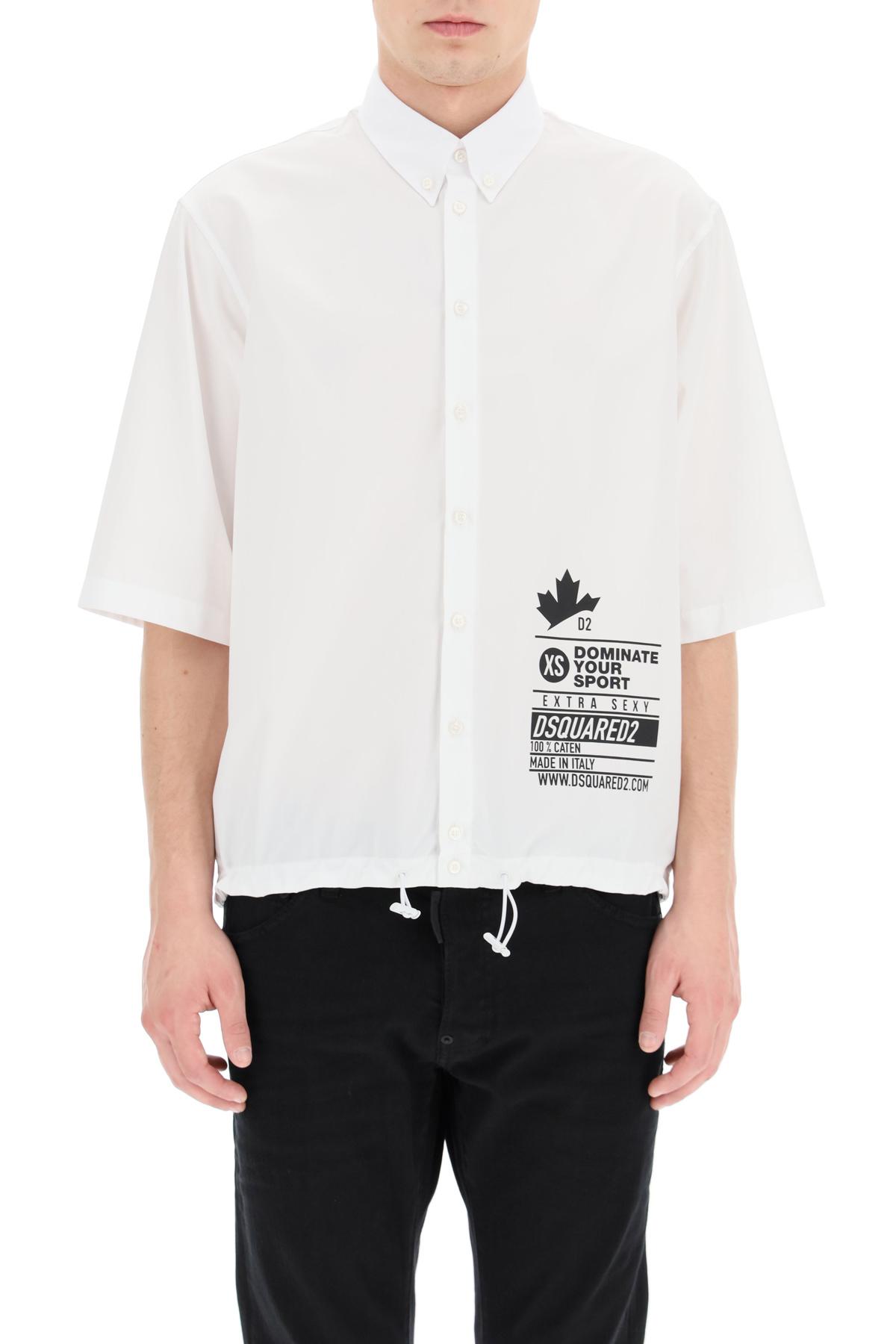 Dsquared2 camicia con stampa