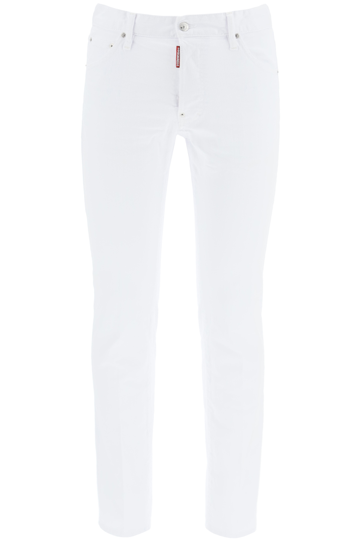 Dsquared2 jeans cool guy white bull