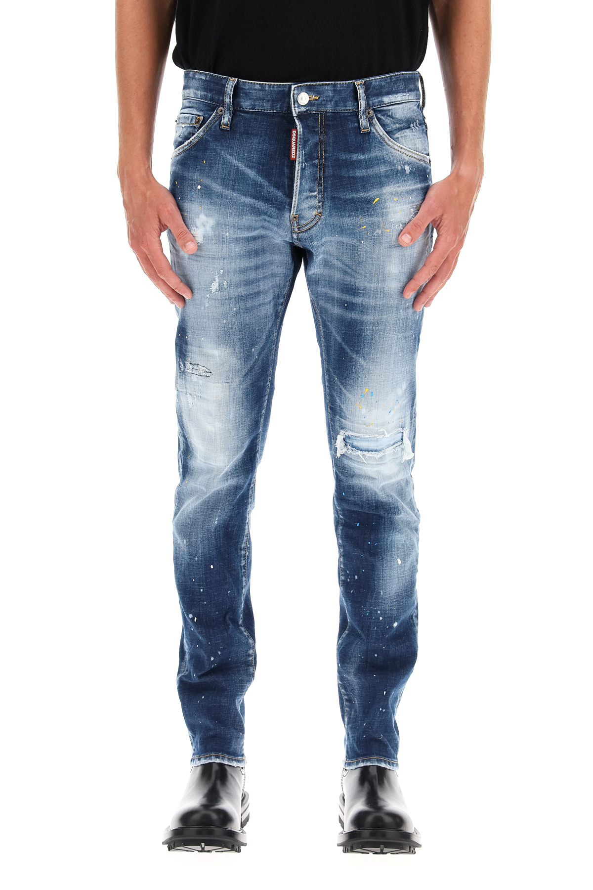 Dsquared2 cool guy jeans logo