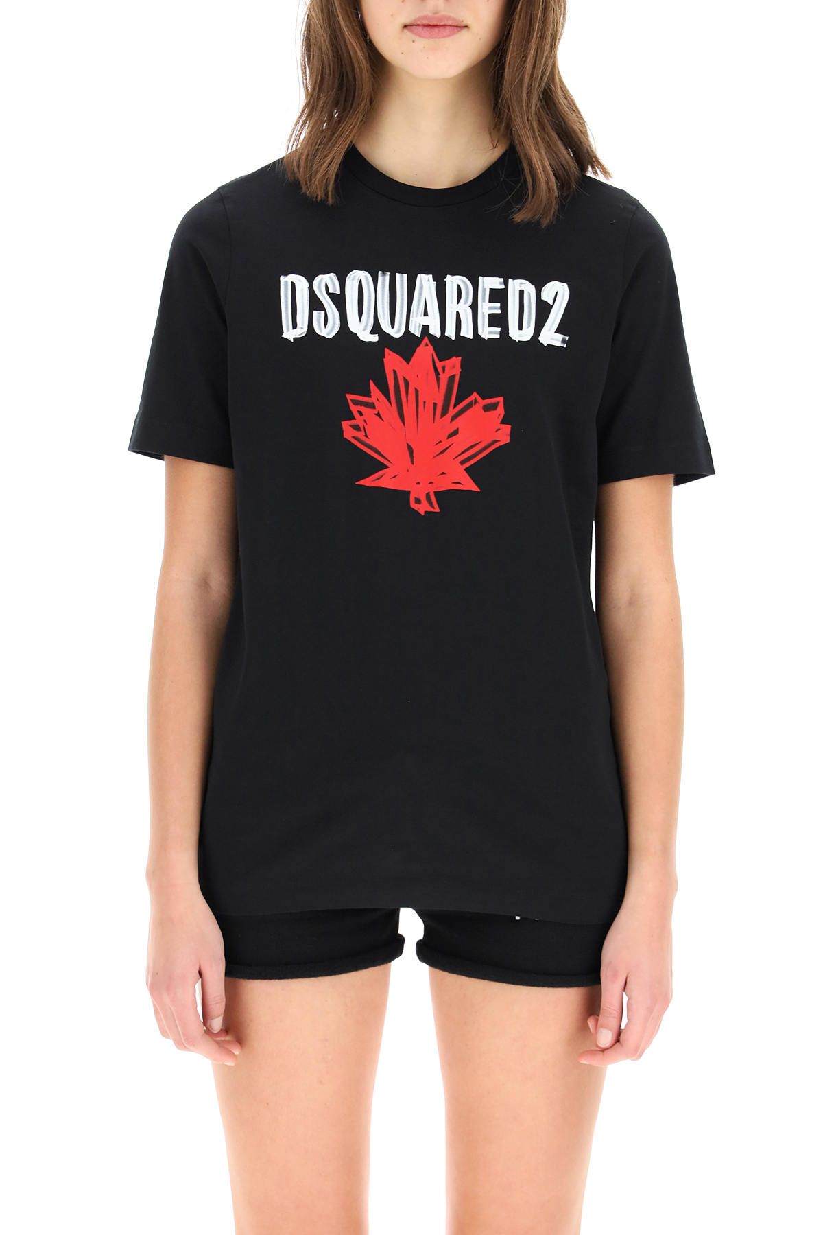 Dsquared2 t-shirt con stampa logo