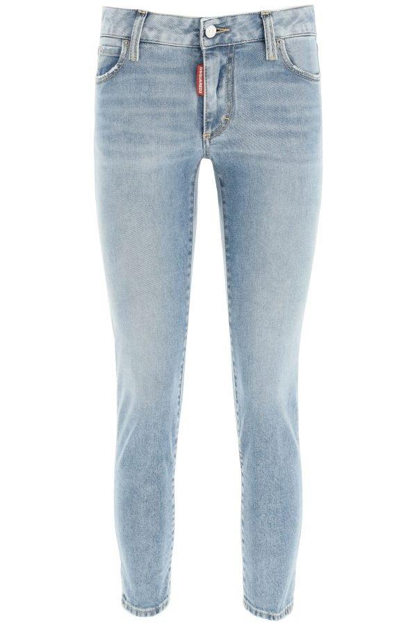 Dsquared2 jeans medium waist cropped twiggy