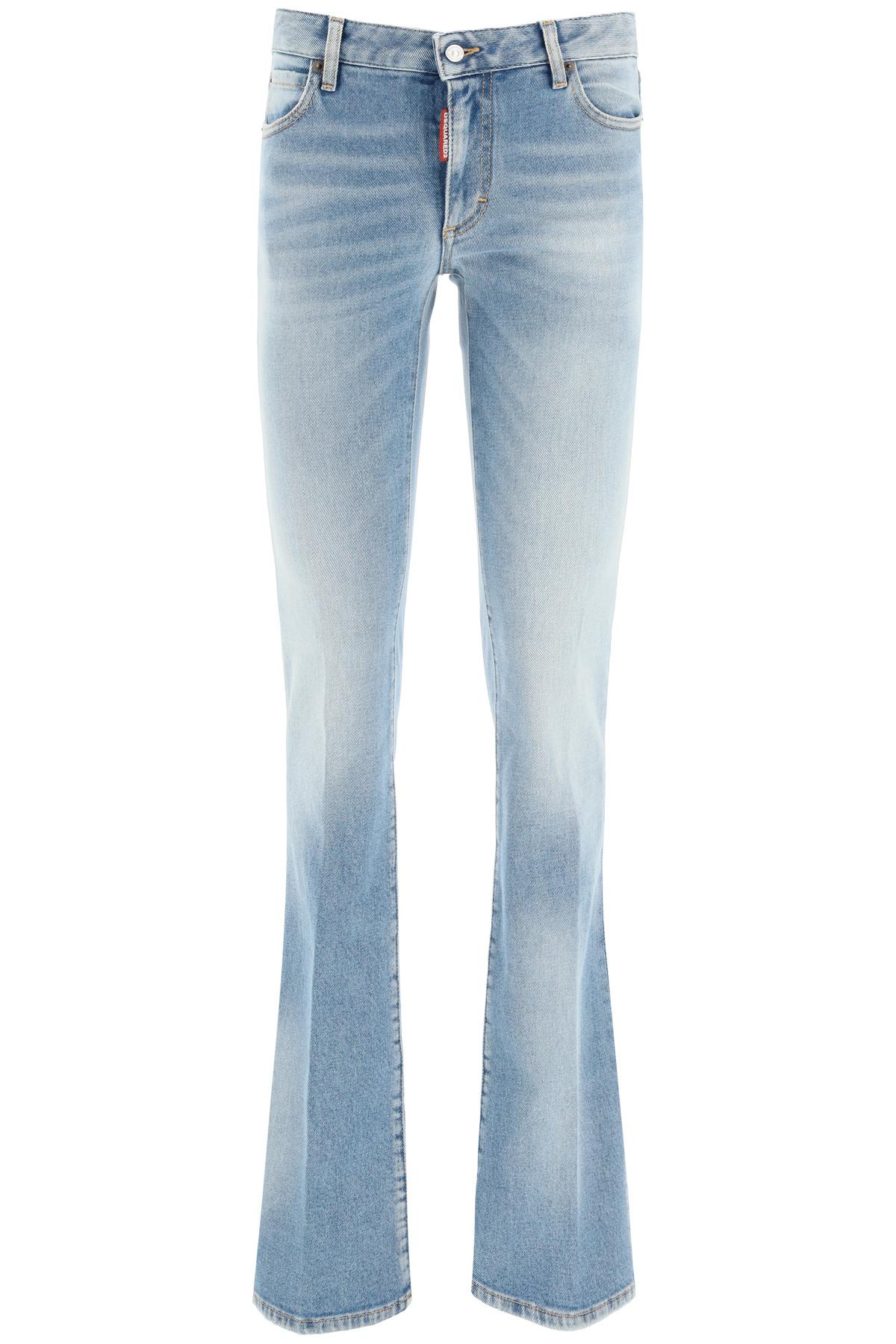 Dsquared2 jeans medium waist flare