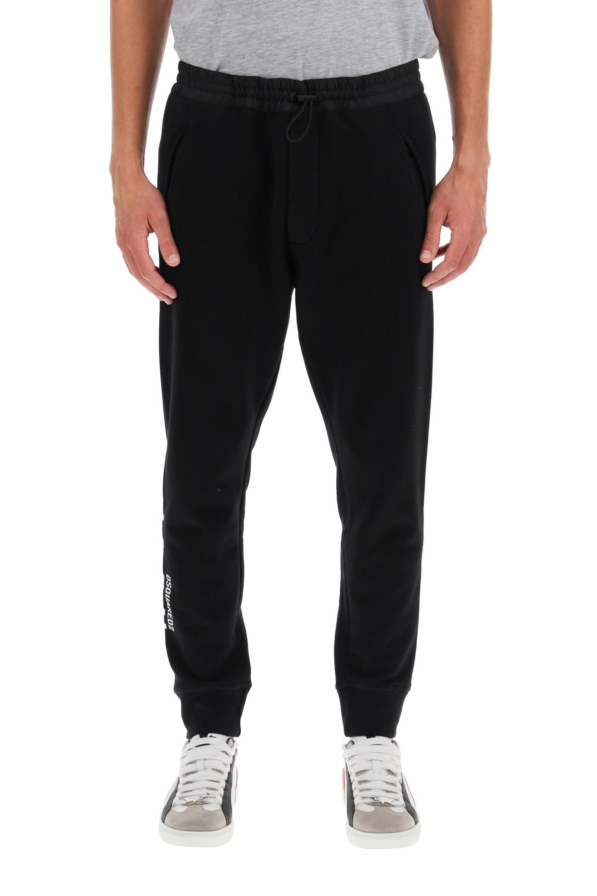 Dsquared2 pantalone jogger con logo icon
