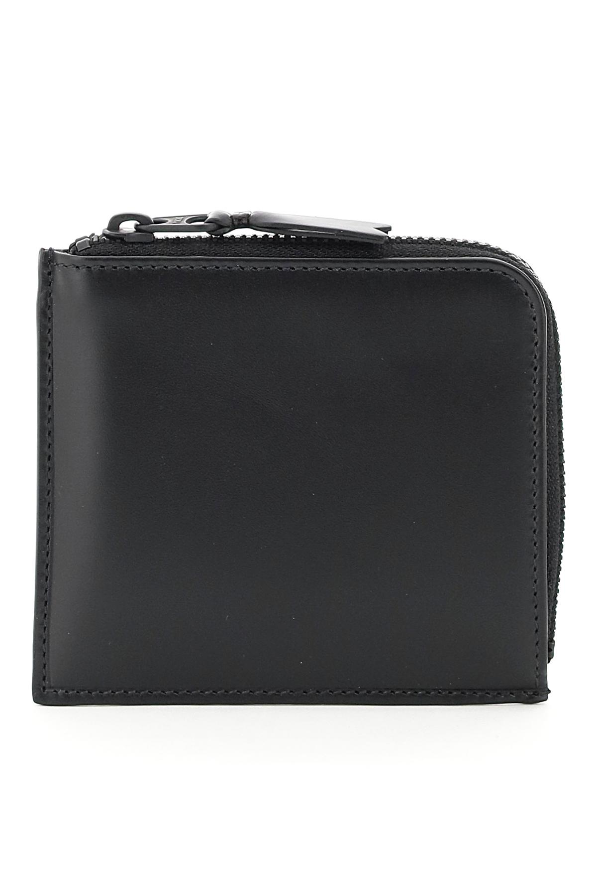 Comme des garcons wallet portafoglio flat very black