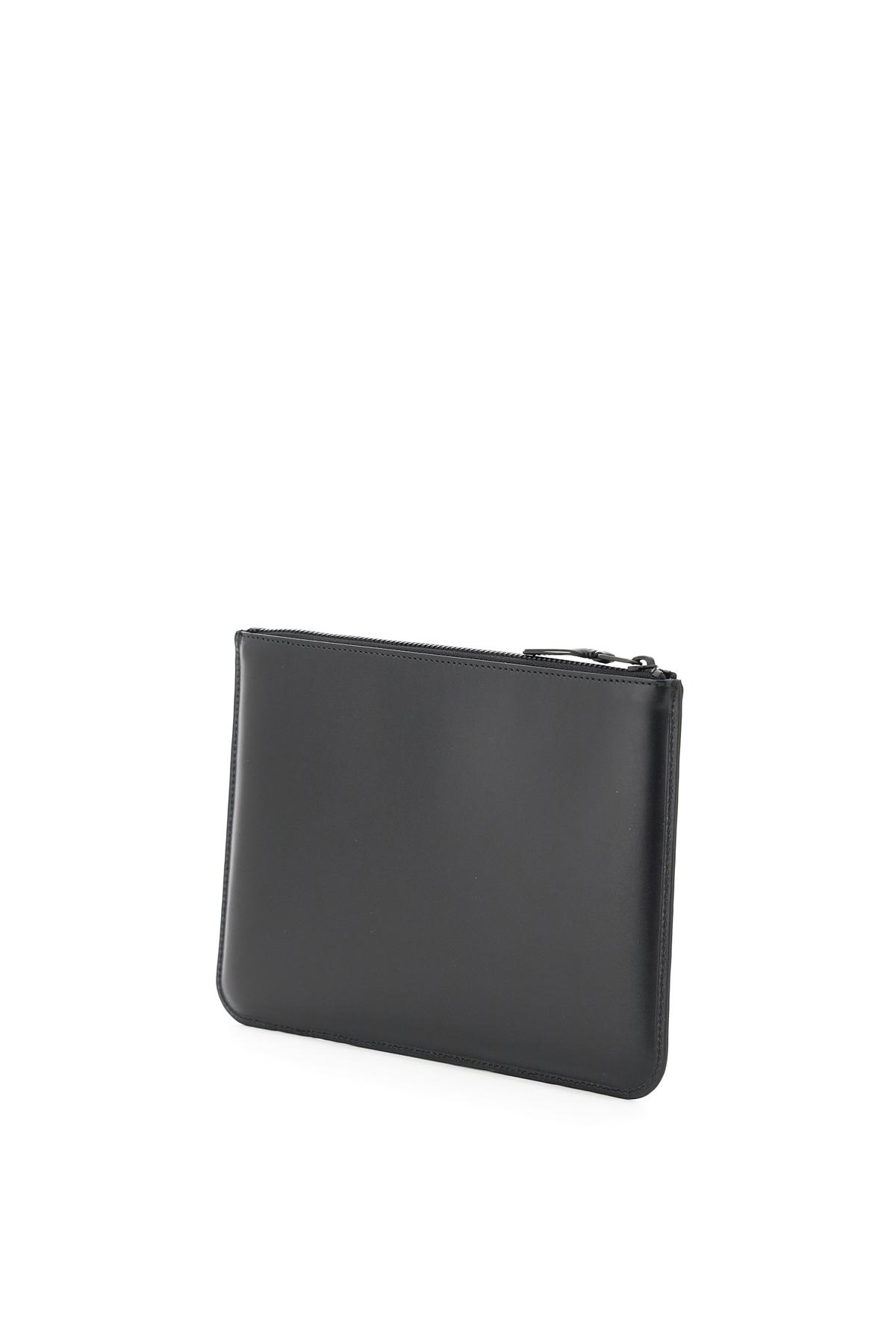 Comme des garcons wallet pouch very black