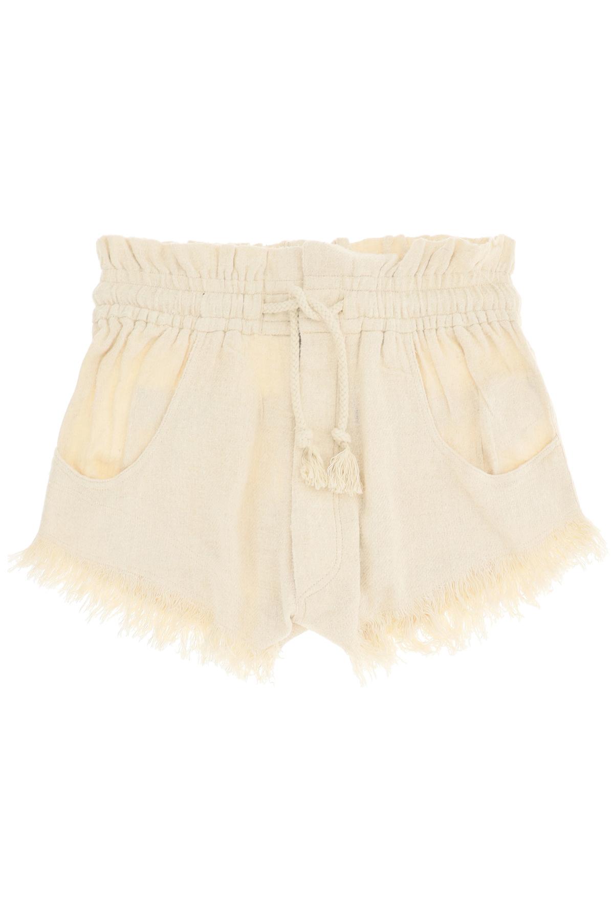 Isabel marant shorts talapiz in seta