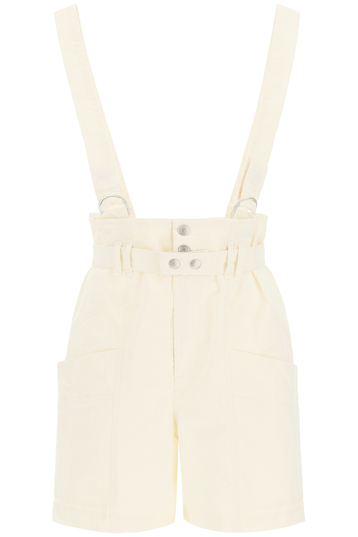 Isabel marant shorts effie con bretelle