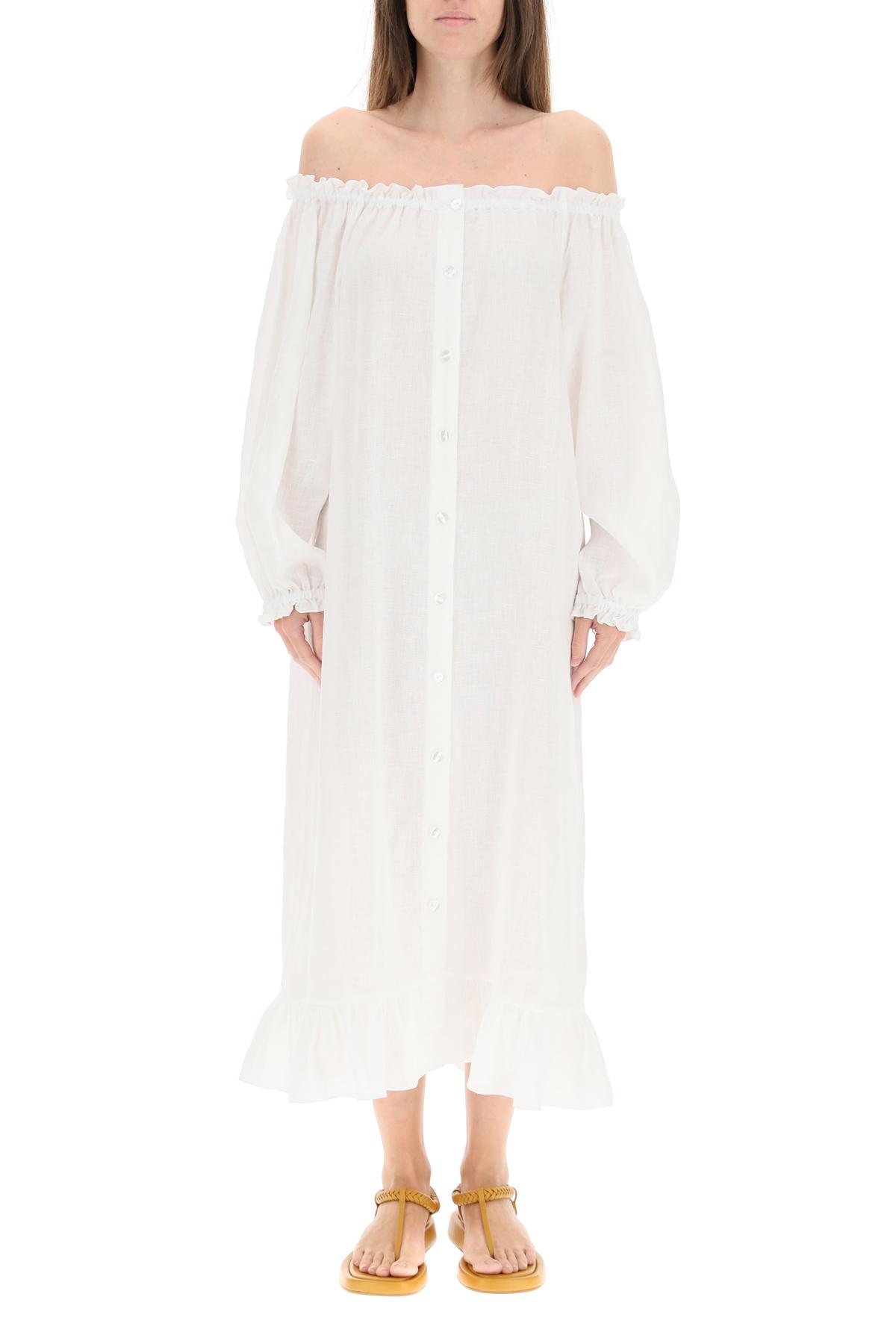 Sleeper abito loungewear in lino