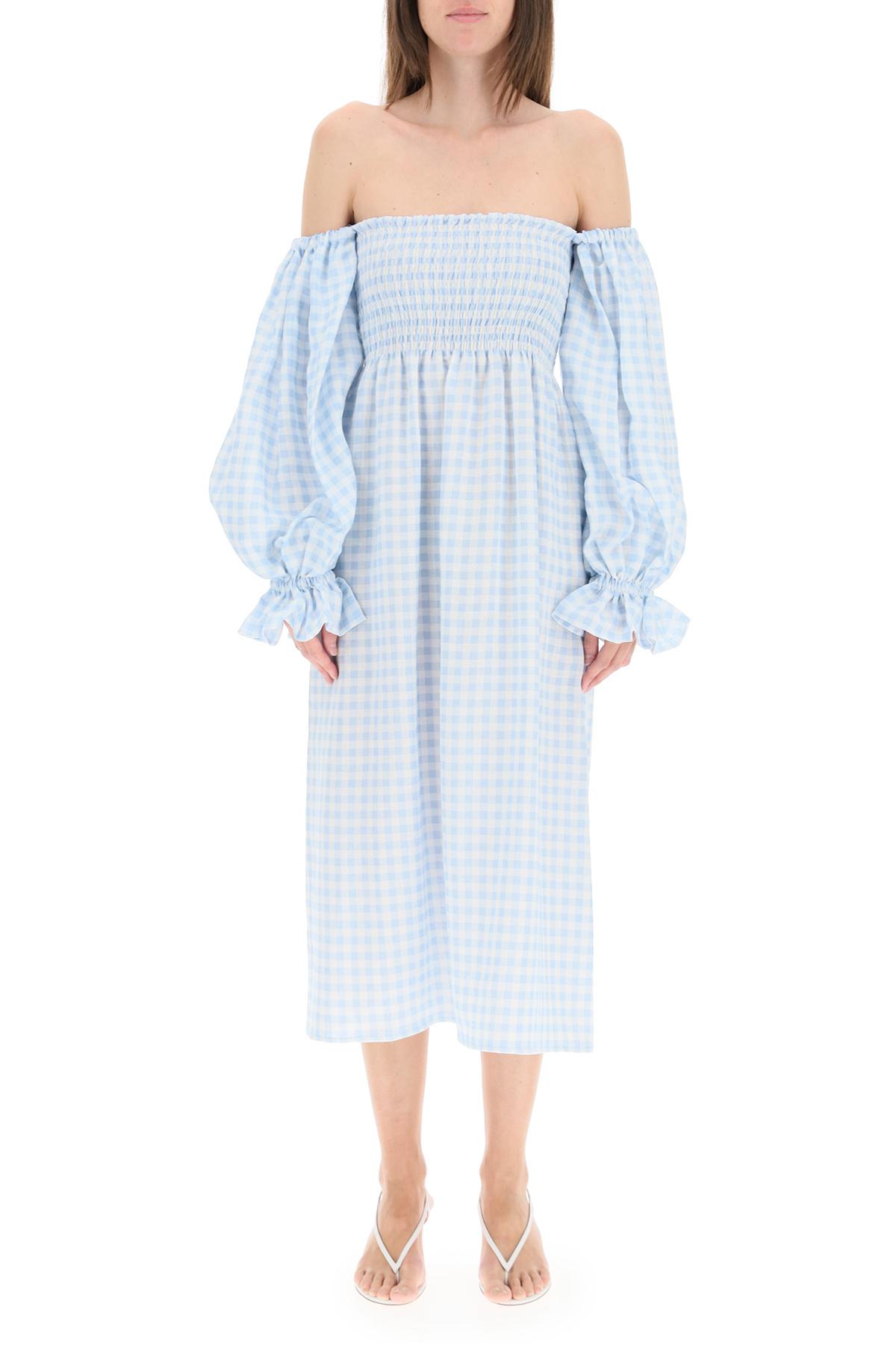 Sleeper abito atlanta in lino vichy